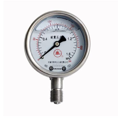 耐震不銹鋼壓力表