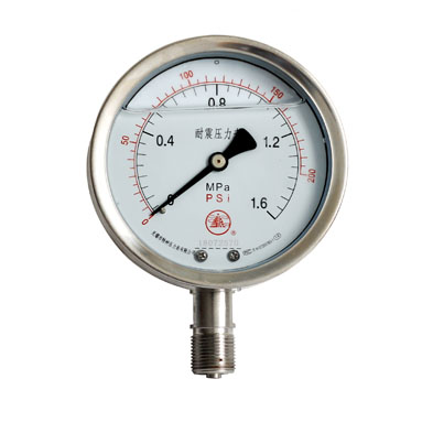 YGW系列耐高温压力表