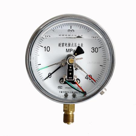YXC-150普通电接点压力表