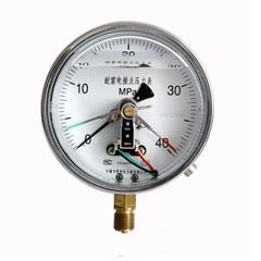 YXC-150徑向普通電接點壓力表