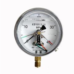 YXCg-150-Z徑向耐震磁感電接點壓力表