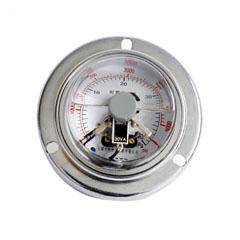 YXC-60-ZⅡ軸向無邊耐震電接點壓力表