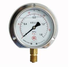 YN-60徑向后邊耐震壓力表