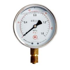 YN-60径向耐震压力表