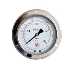 YN-60軸向帶邊耐震壓力表